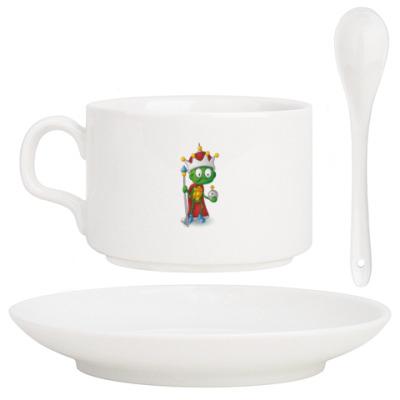 Кофейный набор Добрый Черепашонок Король