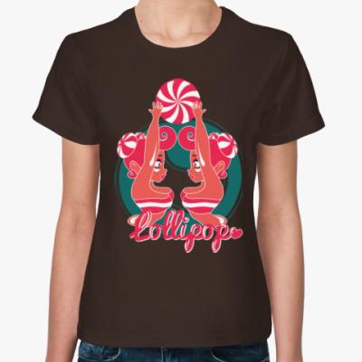 Женская футболка Леденец