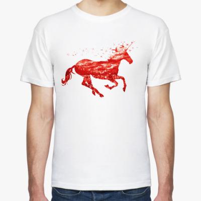 Футболка Рубиновый Единорог