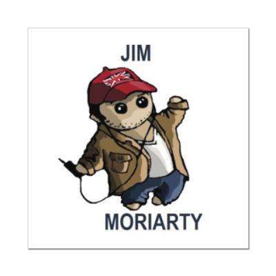 Наклейка (стикер) Sherlock ( Moriarty )