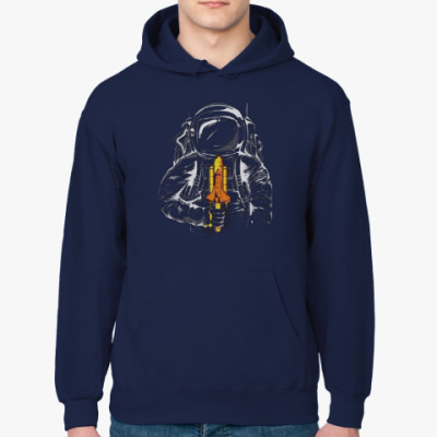 Толстовка худи Космонавт с леденцом
