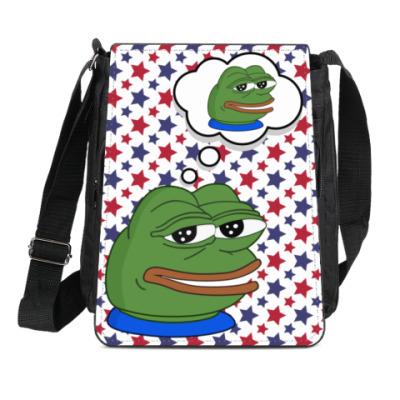 Сумка-планшет Pepe Frog