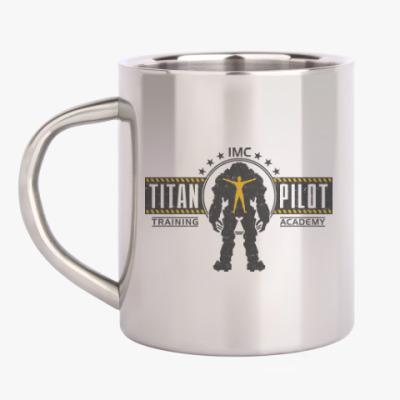 Кружка металлическая Battlefield Titan Pilot
