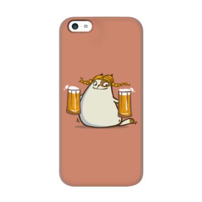 Чехол для iPhone 5c Пятничный Котик №22