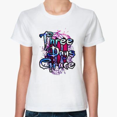 Классическая футболка Three Days Grace
