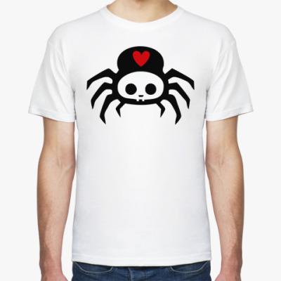 Футболка  Spider Skull