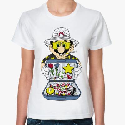 Классическая футболка Супер Марио - Рауль Дюк