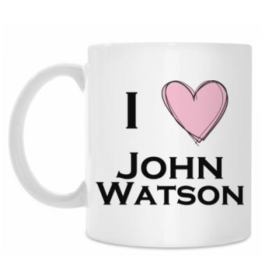 Кружка I <3 John Watson