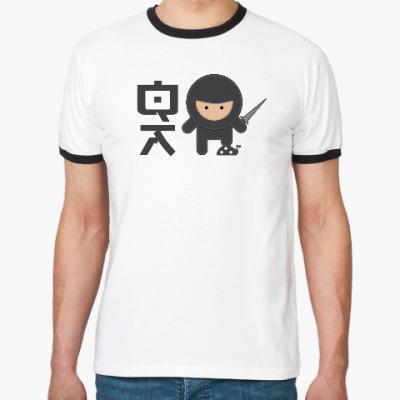 Футболка Ringer-T QA Ninja