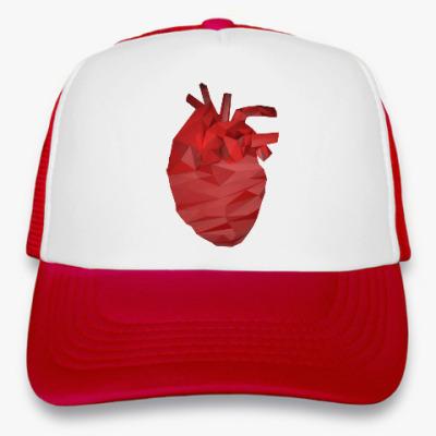 Кепка-тракер Сердце 3D
