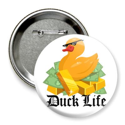 Значок 75мм Duck Life