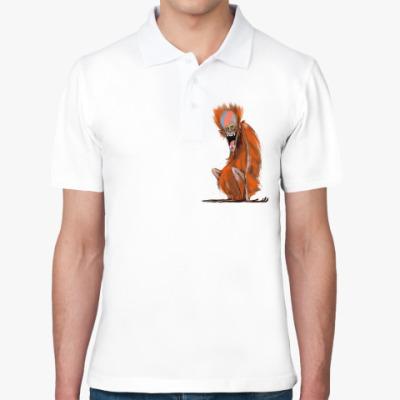 Рубашка поло Огненная Обезьяна