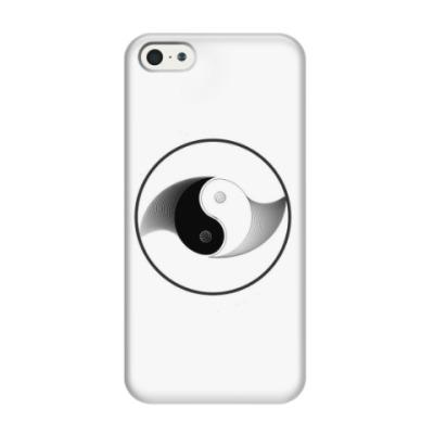 Чехол для iPhone 5/5s Инь Янь