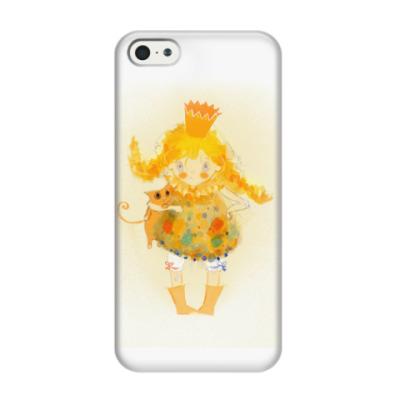 Чехол для iPhone 5/5s принцесса