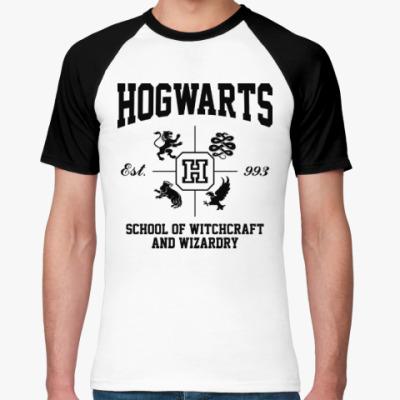 Футболка реглан Hogwarts