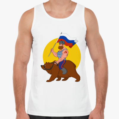 Майка Русский на медведе