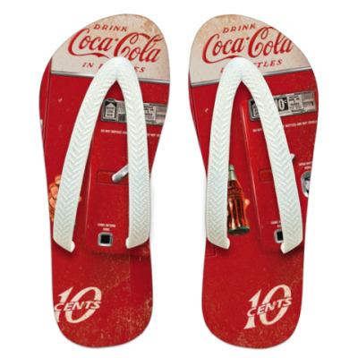 Шлепанцы (сланцы) Coca-Cola Vintage