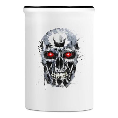 Подставка для ручек и карандашей Terminator