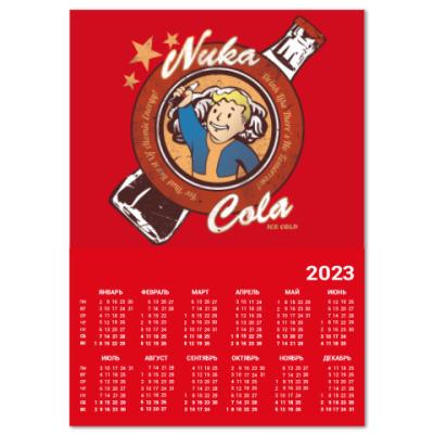 Календарь Fallout Nuka Cola Vault Boy