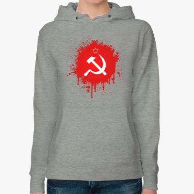 Женская толстовка худи СССР