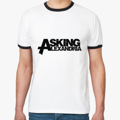 Футболка Ringer-T Asking Alexandria