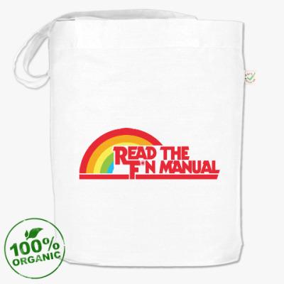Сумка Read the fucking manual RTFM