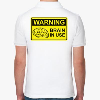 Рубашка поло Brain in use