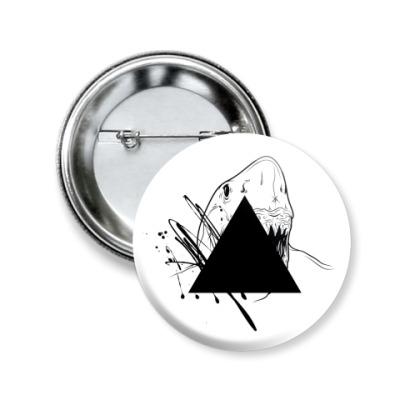 "Значок 50мм ""Triangle"""