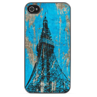Чехол для iPhone Эйфелева башня