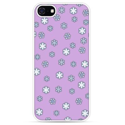 Чехол для iPhone Снежок