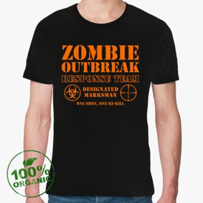 Футболка из органик-хлопка Зомби апокалипсис. Отряд быстр