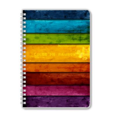 Тетрадь Тетрадь Color me Rainbow