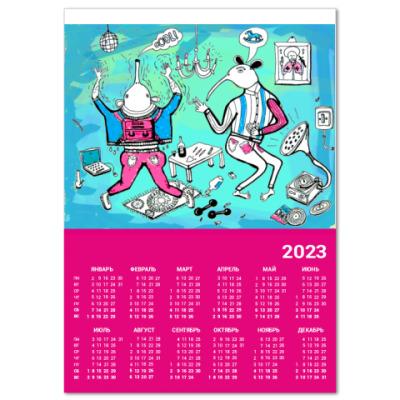 Календарь  Party