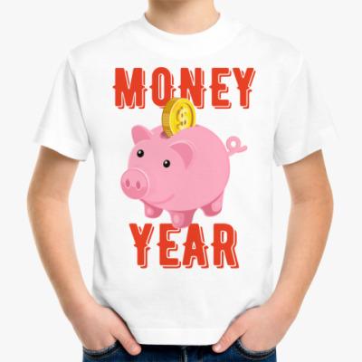 Детская футболка MONEY YEAR