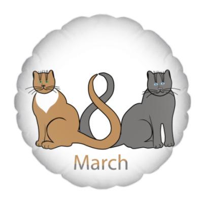 Подушка 8 марта