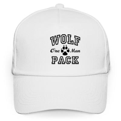 Кепка бейсболка One Man Wolfpack