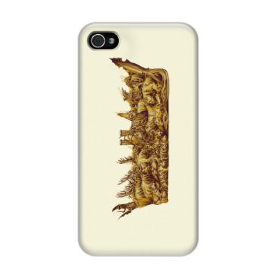 Чехол для iPhone 4/4s Игра Престолов: Корона