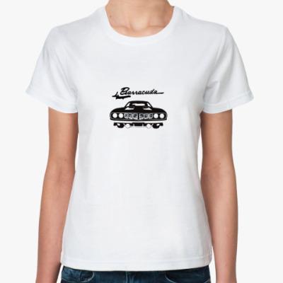 Классическая футболка Барракуда