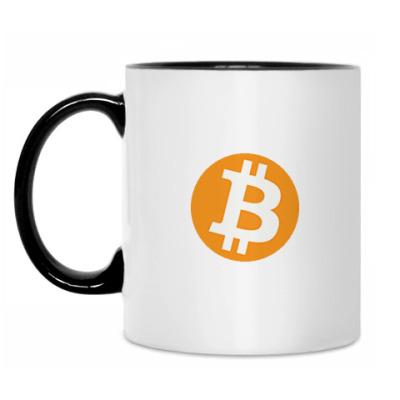 Кружка Кружка Bitcoin бел/чёрн