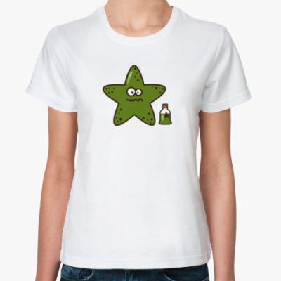 Классическая футболка Морская звезда