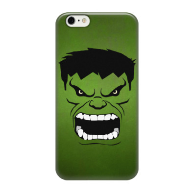 Чехол для iPhone 6/6s Hulk