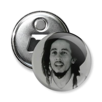Магнит-открывашка Боб Марли
