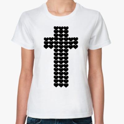 Классическая футболка POP LOVE black