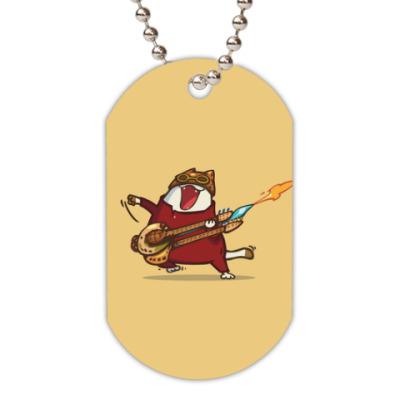 Жетон dog-tag Пятничный Котик №9
