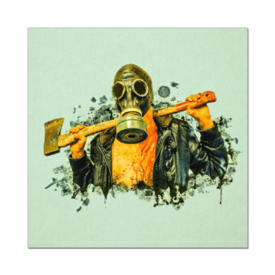 Наклейка (стикер) Zombie Killer
