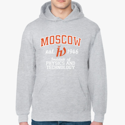 Толстовка худи Толстовка Физтех, Москва