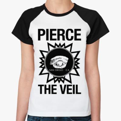 Женская футболка реглан Pierce The Veil