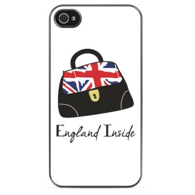 Чехол для iPhone 'Англия внутри'