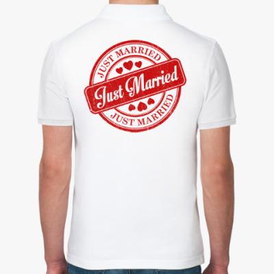 Рубашка поло Just Married