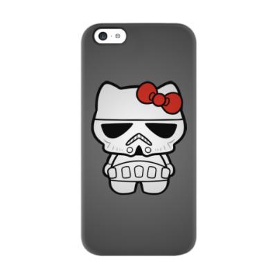 Чехол для iPhone 5c Штурмовик Hello Kitty